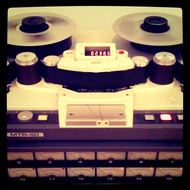 Analog Multitrack Tape Recorder
