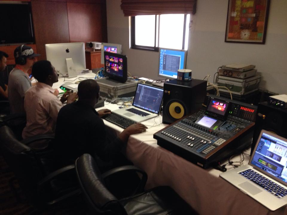 Sound and Motion Studios in Nigeria