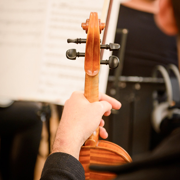 Orchestral recordings at Sound and Motion Studios