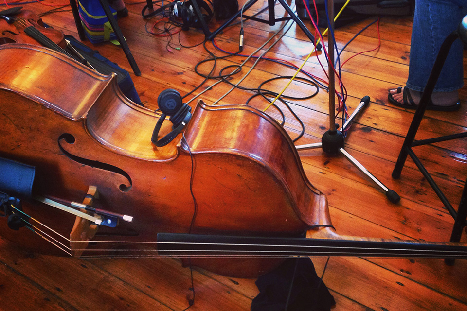 Orchestra recording at Sound and Motion Studios